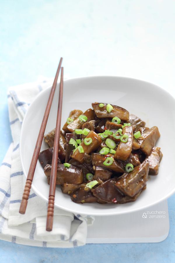 Melanzane in salsa Yu Xiang